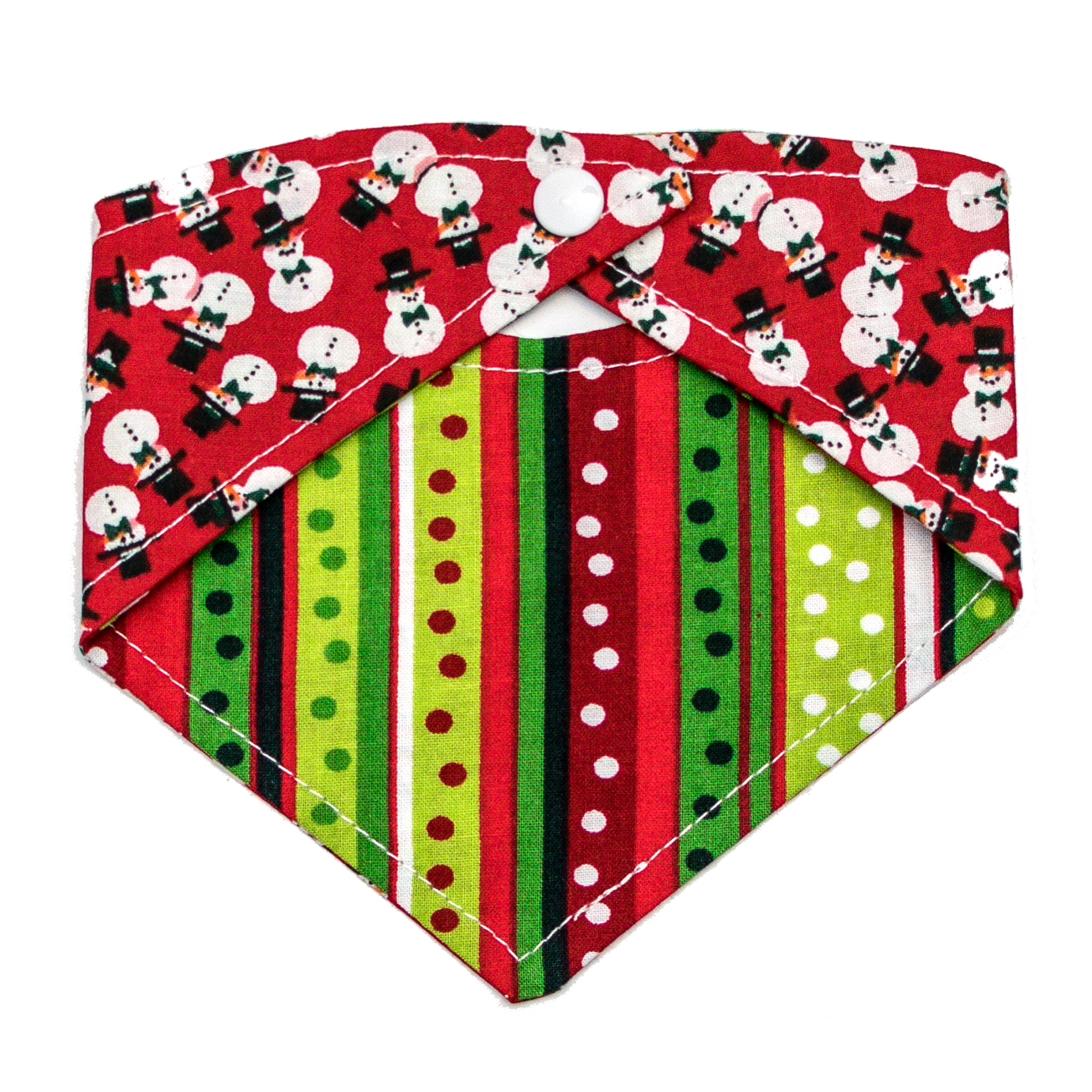 Josephine Grace Puppy Couture Frosty Bandana Back