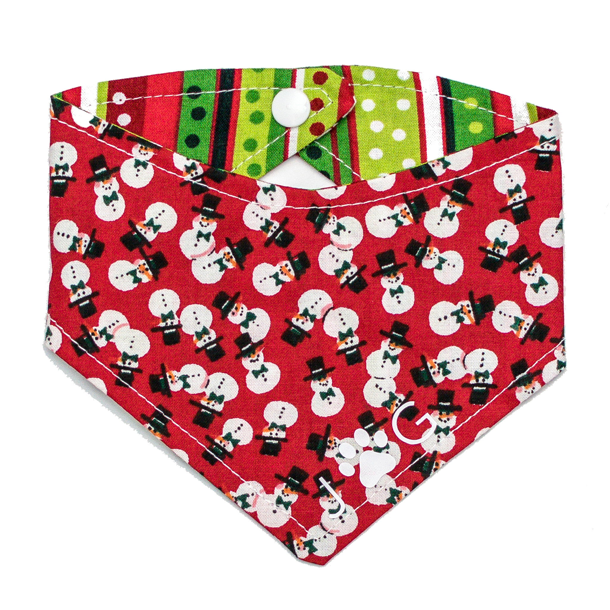 Josephine Grace Puppy Couture Frosty Bandana Front