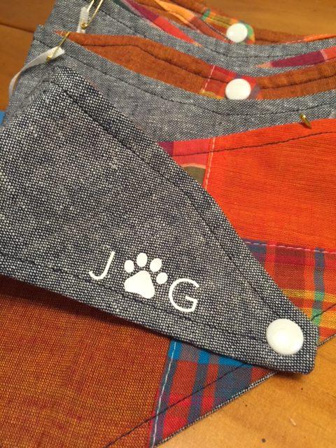 Josephine Grace Puppy Couture Hayride Dog Bandana